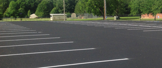 Seal Coating & Striping